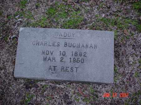 BUCHANAN, CHARLES - Poinsett County, Arkansas | CHARLES BUCHANAN - Arkansas Gravestone Photos