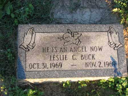 BUCK, LESLIE G. - Poinsett County, Arkansas | LESLIE G. BUCK - Arkansas Gravestone Photos