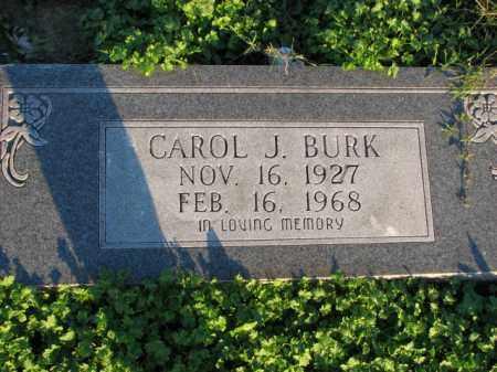 BURK, CAROL J. - Poinsett County, Arkansas | CAROL J. BURK - Arkansas Gravestone Photos