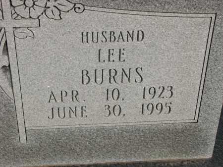 BURNS, LEE - Poinsett County, Arkansas | LEE BURNS - Arkansas Gravestone Photos