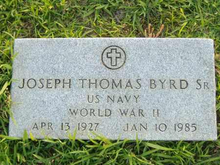 BYRD, SR  (VETERAN WWII), JOSEPH THOMAS - Poinsett County, Arkansas   JOSEPH THOMAS BYRD, SR  (VETERAN WWII) - Arkansas Gravestone Photos