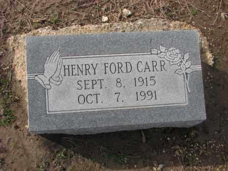 CARR, HENRY FORD - Poinsett County, Arkansas | HENRY FORD CARR - Arkansas Gravestone Photos