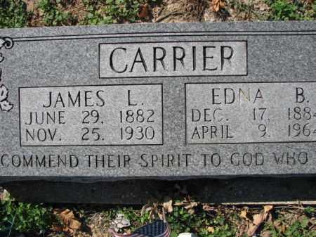 CARRIER, JAMES L. - Poinsett County, Arkansas | JAMES L. CARRIER - Arkansas Gravestone Photos