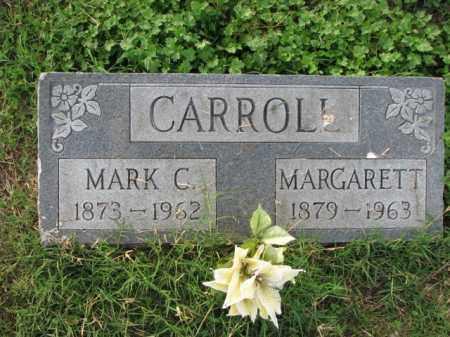 CARROLL, MARK C. - Poinsett County, Arkansas | MARK C. CARROLL - Arkansas Gravestone Photos