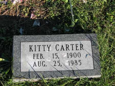CARTER, KITTY - Poinsett County, Arkansas   KITTY CARTER - Arkansas Gravestone Photos