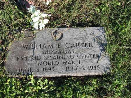 CARTER (VETERAN WWI), WILLIAM E - Poinsett County, Arkansas | WILLIAM E CARTER (VETERAN WWI) - Arkansas Gravestone Photos