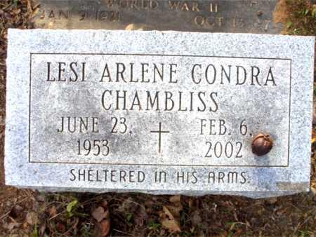 CHAMBLISS, LESI ARLENE - Poinsett County, Arkansas   LESI ARLENE CHAMBLISS - Arkansas Gravestone Photos
