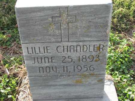 CHANDLER, LILLIE - Poinsett County, Arkansas | LILLIE CHANDLER - Arkansas Gravestone Photos