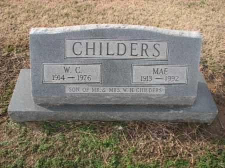 CHILDERS, W.C. - Poinsett County, Arkansas | W.C. CHILDERS - Arkansas Gravestone Photos