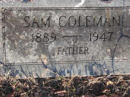 COLEMAN, SAM - Poinsett County, Arkansas | SAM COLEMAN - Arkansas Gravestone Photos
