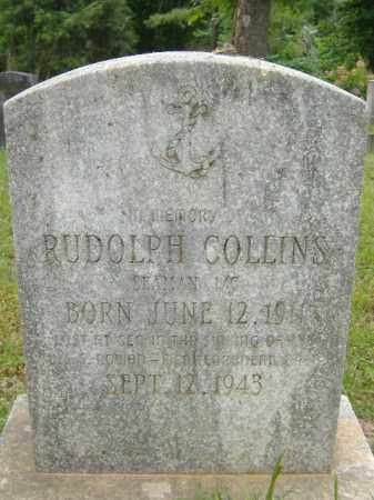 COLLINS  (VETERAN WWII, KIA), RUDOLPH - Poinsett County, Arkansas | RUDOLPH COLLINS  (VETERAN WWII, KIA) - Arkansas Gravestone Photos
