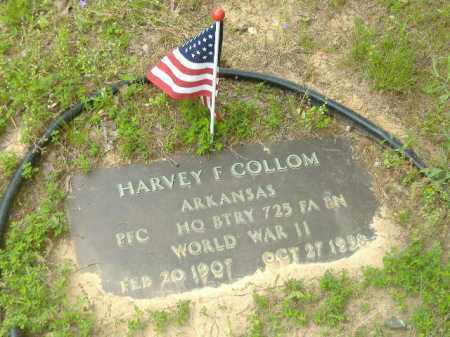 COLLOM  (VETERAN WWII), HARVEY - Poinsett County, Arkansas | HARVEY COLLOM  (VETERAN WWII) - Arkansas Gravestone Photos