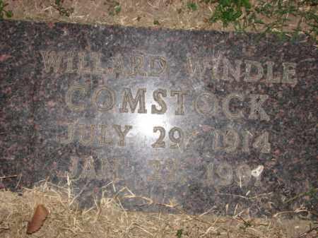 COMSTOCK, WILLARD WINDLE - Poinsett County, Arkansas | WILLARD WINDLE COMSTOCK - Arkansas Gravestone Photos