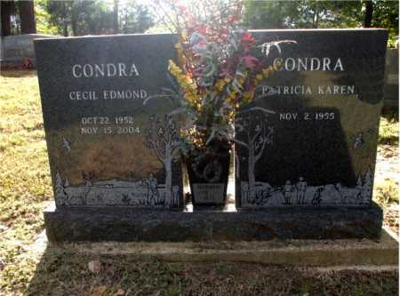 CONDRA, CECIL EDMOND - Poinsett County, Arkansas   CECIL EDMOND CONDRA - Arkansas Gravestone Photos