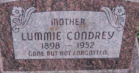 CONDREY, LUMMIE - Poinsett County, Arkansas | LUMMIE CONDREY - Arkansas Gravestone Photos