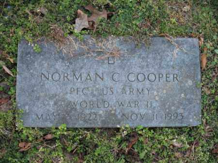 COOPER (VETERAN WWII), NORMAN C - Poinsett County, Arkansas   NORMAN C COOPER (VETERAN WWII) - Arkansas Gravestone Photos