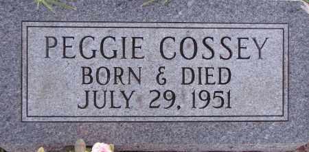 COSSEY, PEGGIE - Poinsett County, Arkansas | PEGGIE COSSEY - Arkansas Gravestone Photos