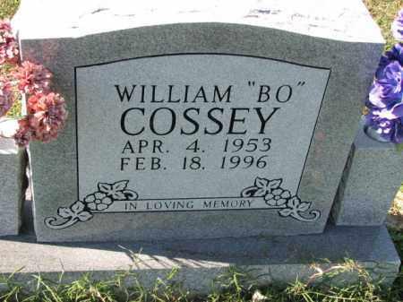 "COSSEY, WILLIAM ""BO"" - Poinsett County, Arkansas | WILLIAM ""BO"" COSSEY - Arkansas Gravestone Photos"
