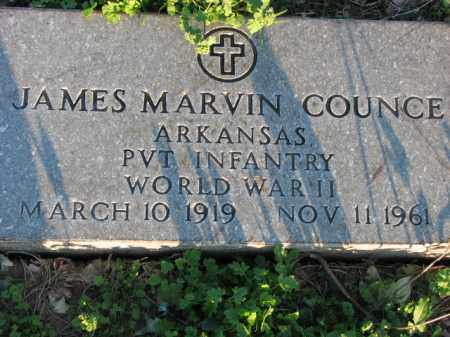COUNCE (VETERAN WWII), JAMES MARVIN - Poinsett County, Arkansas | JAMES MARVIN COUNCE (VETERAN WWII) - Arkansas Gravestone Photos