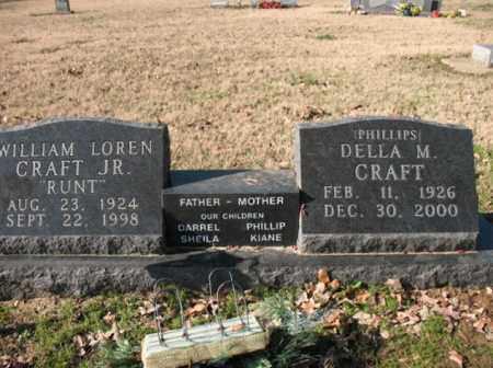 "CRAFT, JR, WILLIAM LOREN  ""RUNT"" - Poinsett County, Arkansas | WILLIAM LOREN  ""RUNT"" CRAFT, JR - Arkansas Gravestone Photos"