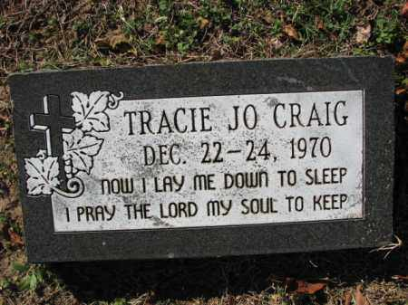 CRAIG, TRACIE JO. - Poinsett County, Arkansas | TRACIE JO. CRAIG - Arkansas Gravestone Photos