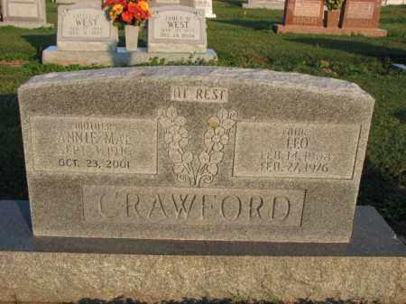 CRAWFORD, LEO - Poinsett County, Arkansas   LEO CRAWFORD - Arkansas Gravestone Photos