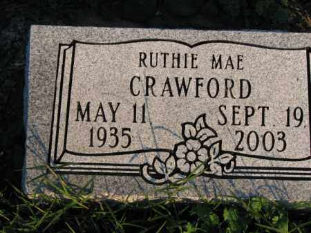 CRAWFORD, RUTHIE MAE - Poinsett County, Arkansas | RUTHIE MAE CRAWFORD - Arkansas Gravestone Photos