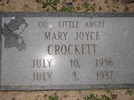 CROCKETT, MARY JOYCE - Poinsett County, Arkansas   MARY JOYCE CROCKETT - Arkansas Gravestone Photos