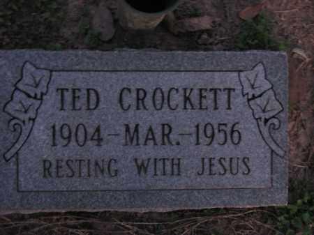CROCKETT, TED - Poinsett County, Arkansas   TED CROCKETT - Arkansas Gravestone Photos