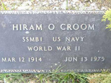 CROOM  (VETERAN WWII), HIRAM O - Poinsett County, Arkansas | HIRAM O CROOM  (VETERAN WWII) - Arkansas Gravestone Photos