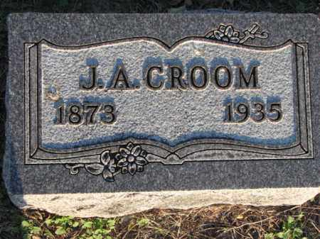 CROOM, J. A. - Poinsett County, Arkansas | J. A. CROOM - Arkansas Gravestone Photos