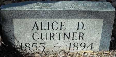 CURTNER, ALICE - Poinsett County, Arkansas   ALICE CURTNER - Arkansas Gravestone Photos