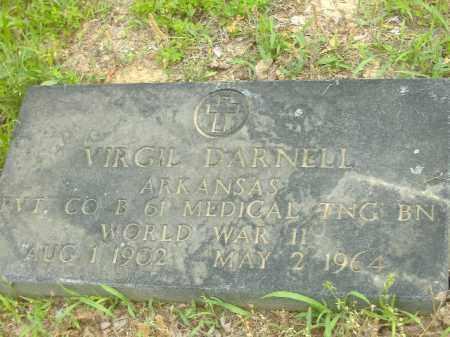 DARNELL  (VETERAN WWII), VIRGIL - Poinsett County, Arkansas   VIRGIL DARNELL  (VETERAN WWII) - Arkansas Gravestone Photos