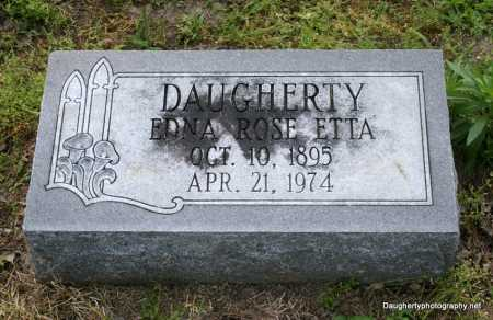 ETTA DAUGHERTY, EDNA - Poinsett County, Arkansas   EDNA ETTA DAUGHERTY - Arkansas Gravestone Photos