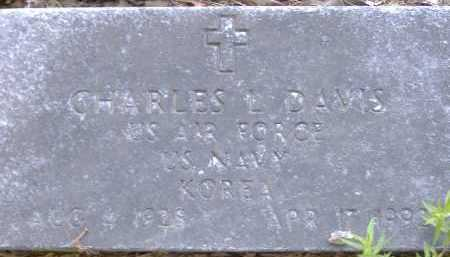 DAVIS  (VETERAN KOR), CHARLES L. - Poinsett County, Arkansas | CHARLES L. DAVIS  (VETERAN KOR) - Arkansas Gravestone Photos