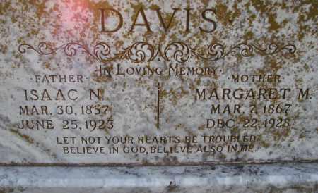 DAVIS, ISAAC N. - Poinsett County, Arkansas | ISAAC N. DAVIS - Arkansas Gravestone Photos