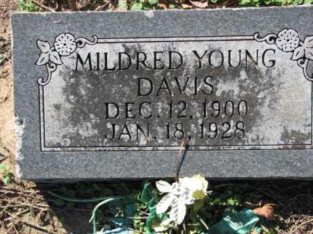 YOUNG DAVIS, MILDRED - Poinsett County, Arkansas | MILDRED YOUNG DAVIS - Arkansas Gravestone Photos