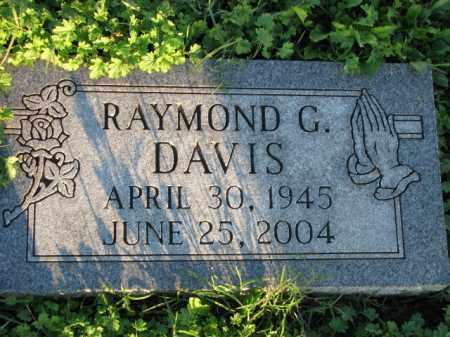 DAVIS, RAYMOND G. - Poinsett County, Arkansas | RAYMOND G. DAVIS - Arkansas Gravestone Photos