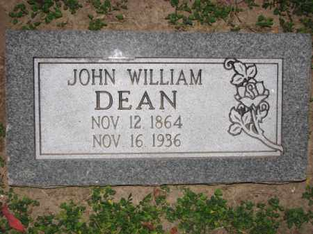DEAN, JOHN WILLIAM - Poinsett County, Arkansas   JOHN WILLIAM DEAN - Arkansas Gravestone Photos