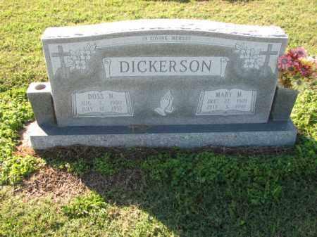 DICKERSON, MARY M. - Poinsett County, Arkansas | MARY M. DICKERSON - Arkansas Gravestone Photos