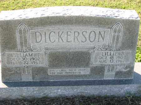 DICKERSON, LILLIE B. - Poinsett County, Arkansas | LILLIE B. DICKERSON - Arkansas Gravestone Photos
