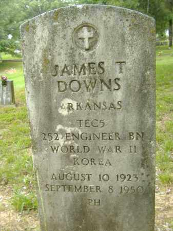 DOWNS  (VETERAN 2 WARS), JAMES T - Poinsett County, Arkansas | JAMES T DOWNS  (VETERAN 2 WARS) - Arkansas Gravestone Photos