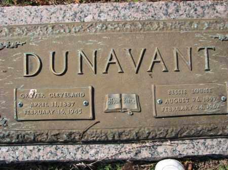 DUNAVANT, BESSIE LOUISE - Poinsett County, Arkansas | BESSIE LOUISE DUNAVANT - Arkansas Gravestone Photos