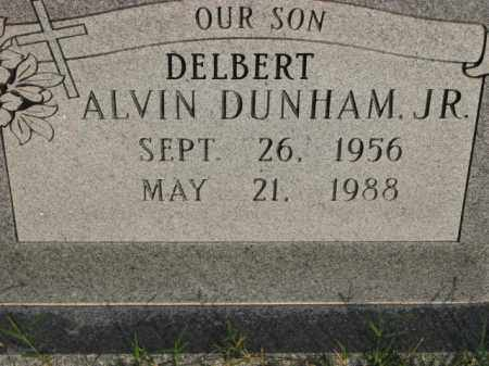 DUNHAM, JR., DELBERT ALVIN - Poinsett County, Arkansas   DELBERT ALVIN DUNHAM, JR. - Arkansas Gravestone Photos