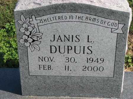 DUPUIS, JANIS L. - Poinsett County, Arkansas | JANIS L. DUPUIS - Arkansas Gravestone Photos