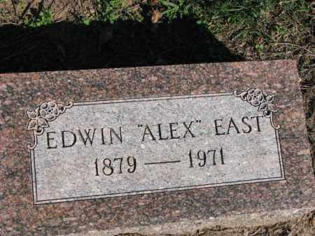 "EAST, EDWIN ""ALEX"" - Poinsett County, Arkansas | EDWIN ""ALEX"" EAST - Arkansas Gravestone Photos"