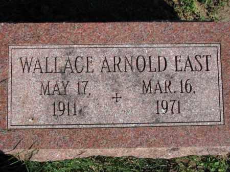 EAST, WALLACE ARNOLD - Poinsett County, Arkansas   WALLACE ARNOLD EAST - Arkansas Gravestone Photos