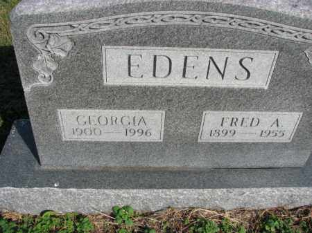EDENS, FRED A. - Poinsett County, Arkansas | FRED A. EDENS - Arkansas Gravestone Photos