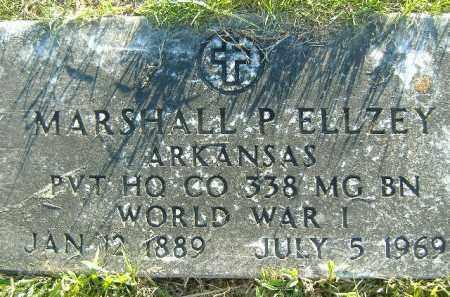 ELLZEY  (VETERAN WWI), MARSHALL P. - Poinsett County, Arkansas   MARSHALL P. ELLZEY  (VETERAN WWI) - Arkansas Gravestone Photos