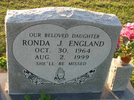 ENGLAND, RONDA J. - Poinsett County, Arkansas   RONDA J. ENGLAND - Arkansas Gravestone Photos
